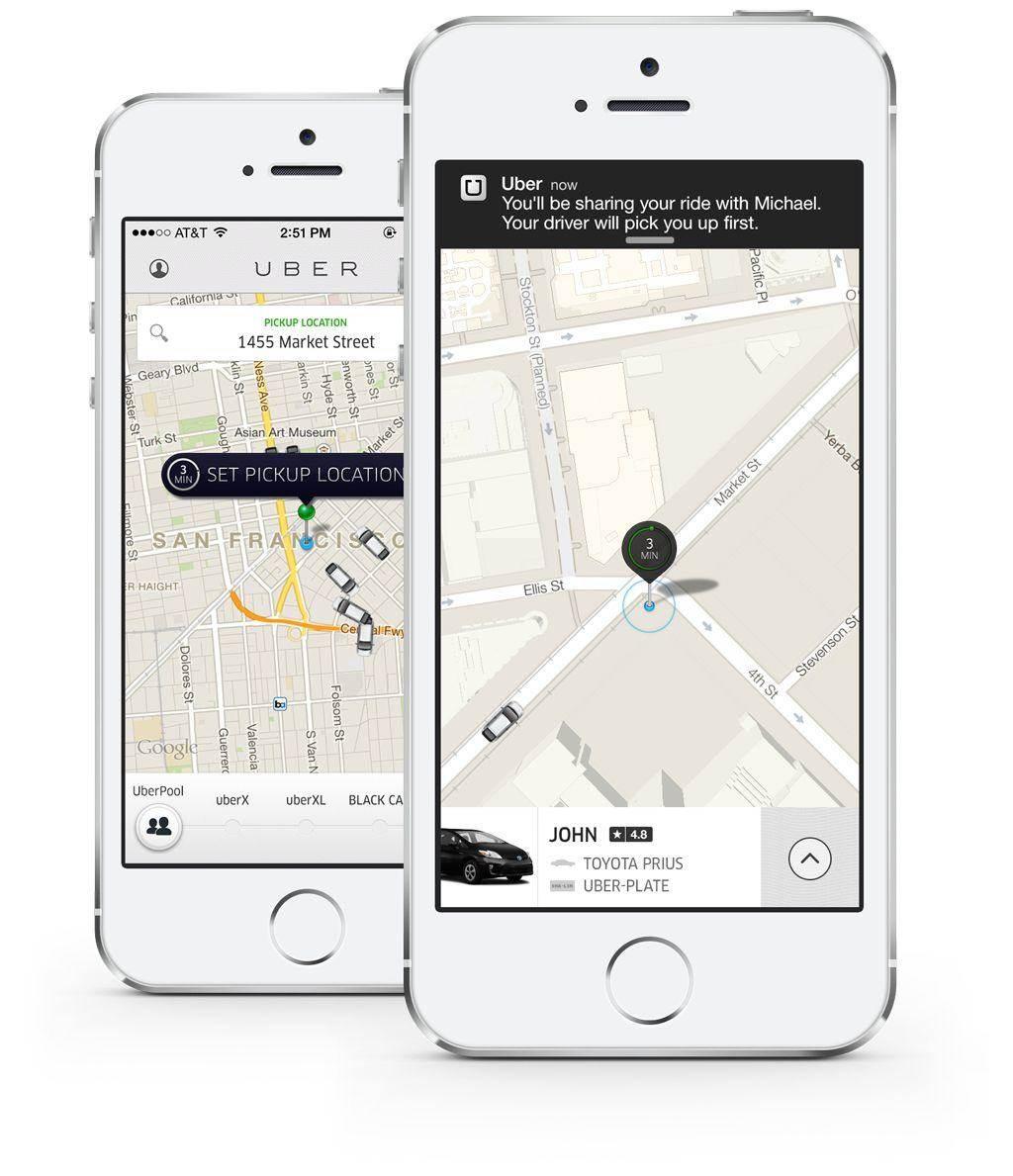 App Like Uber/Ola
